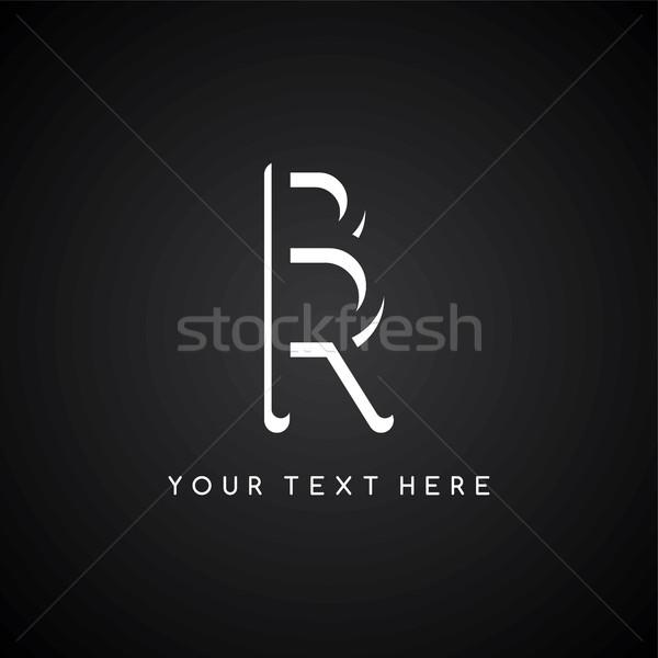 Carta ilustración resumen diseno Foto stock © vector1st