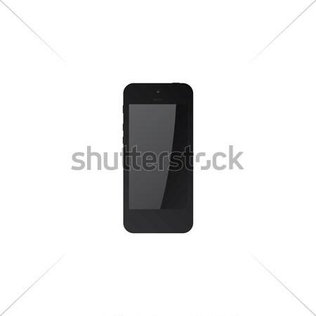 Preto comprimido para cima vetor gráfico arte Foto stock © vector1st