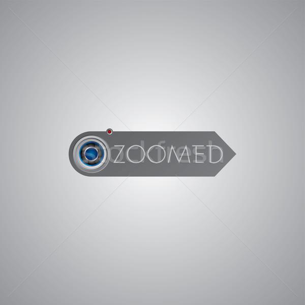 фотографии логотип шаблон камеры вектора искусства Сток-фото © vector1st