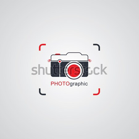 photography theme logotype Stock photo © vector1st