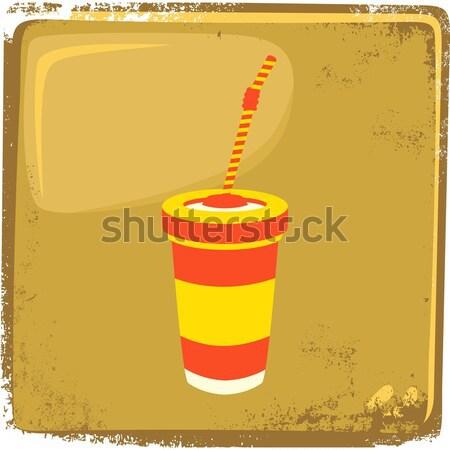 食品 ドリンク ベクトル グラフィック 芸術 ストックフォト © vector1st