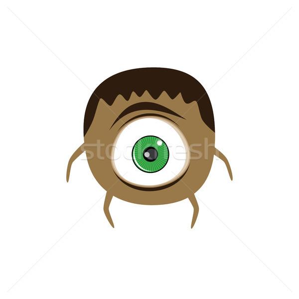 Cute прелестный Scary монстр Cartoon характер Сток-фото © vector1st