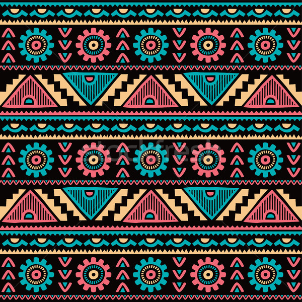 native ethnic pattern Stock photo © vector1st