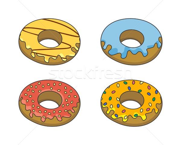 Alimentos beber vector gráfico arte diseno Foto stock © vector1st