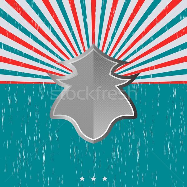 Vintage schild sjabloon vector grafische kunst Stockfoto © vector1st