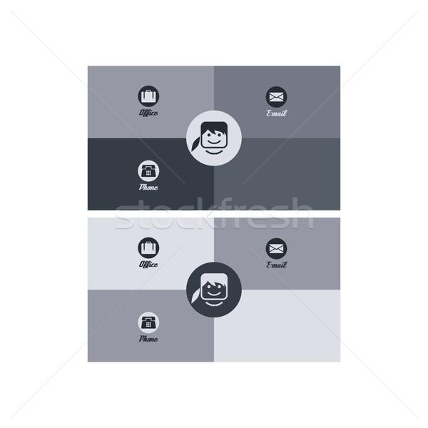 modern business card Stock photo © vector1st