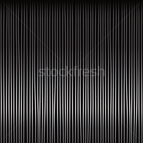 Prata monocromático linha vetor arte ilustração Foto stock © vector1st