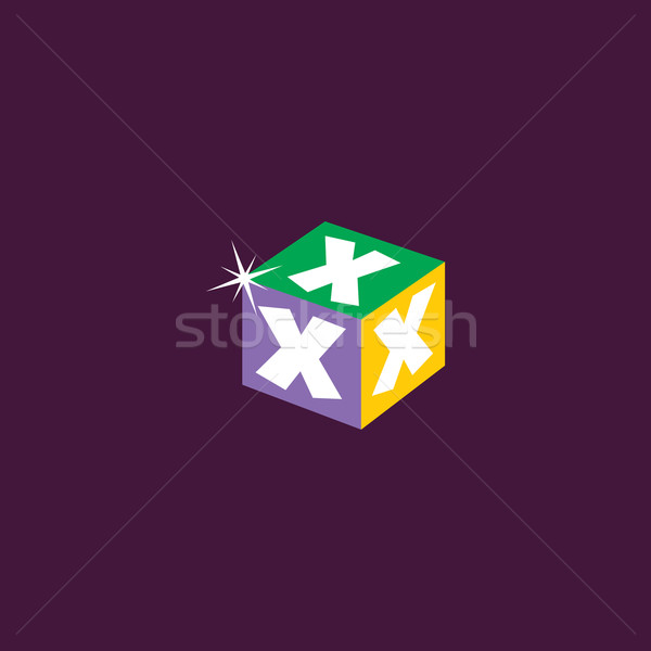 prize cartoon icon button Stock photo © vector1st