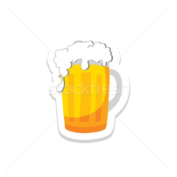 Bière festival boire alcool brasserie fête Photo stock © vector1st