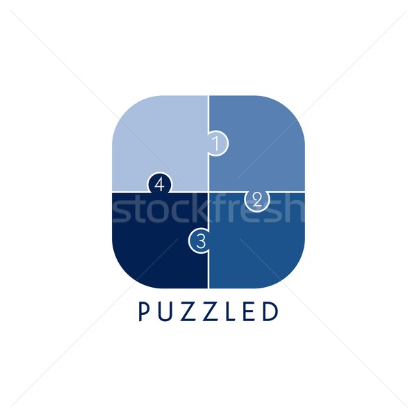 Problémamegoldás média ikon gomb vektor grafikus Stock fotó © vector1st