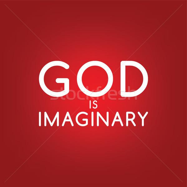 религиозных невежество кампания вектора искусства Иисус Сток-фото © vector1st