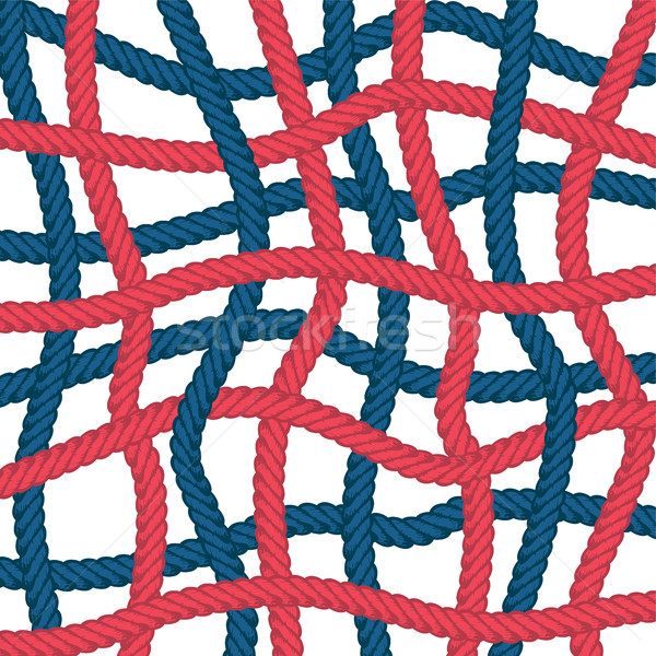 веревку вектора шаблон шаблон искусства Сток-фото © vector1st