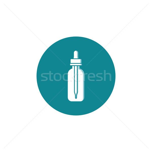 личные жидкость бутылку вектора искусства облаке Сток-фото © vector1st