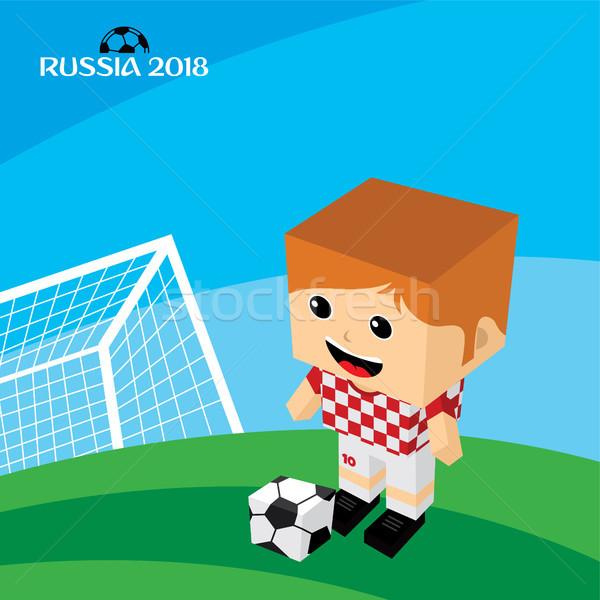 Groupe équipe Russie vecteur art Photo stock © vector1st