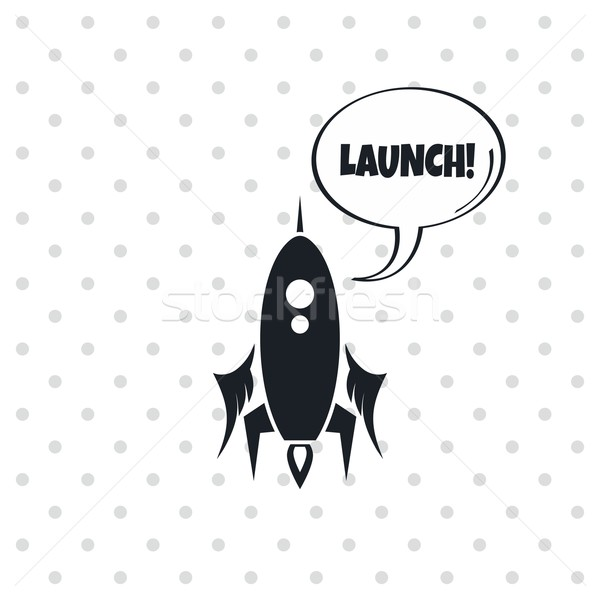 space shuttle rocket Stock photo © vector1st