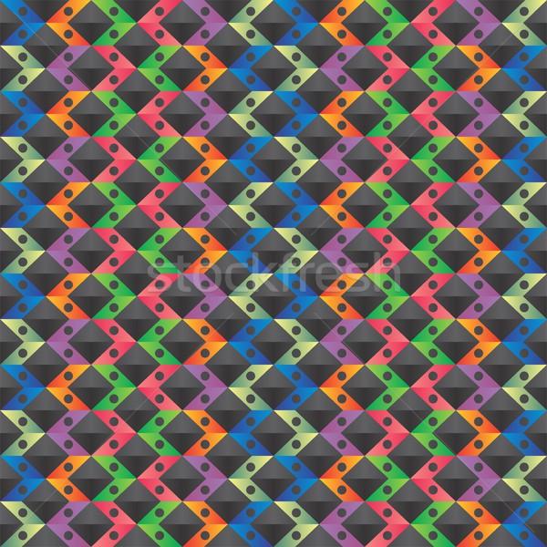 шаблон искусства вектора графических дизайна иллюстрация Сток-фото © vector1st