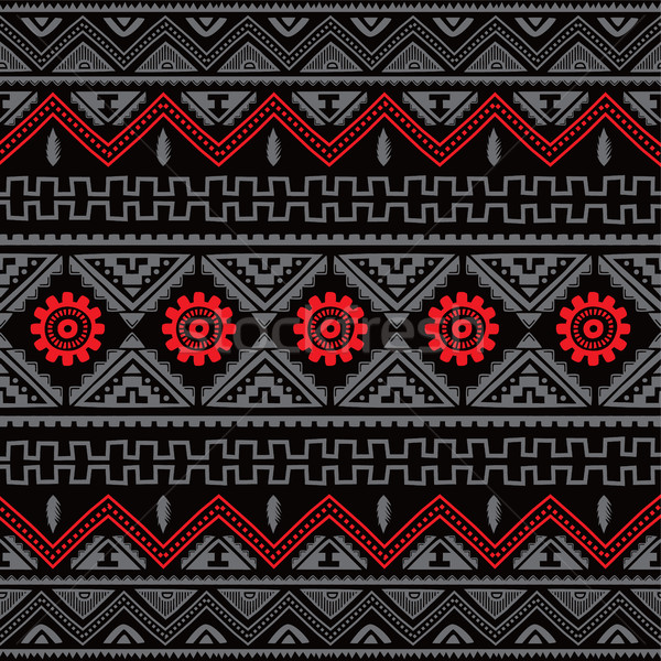 native american ethnic pattern Stock photo © vector1st