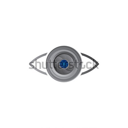 lens photography icon Stock photo © vector1st