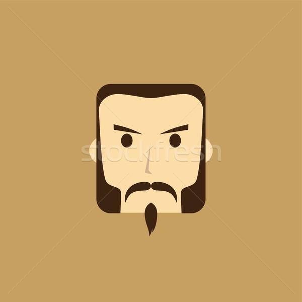 gentleman avatar portrait icon Stock photo © vector1st