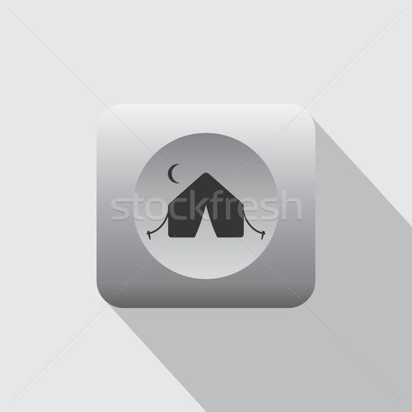 Летние каникулы икона знак вектора искусства иллюстрация Сток-фото © vector1st