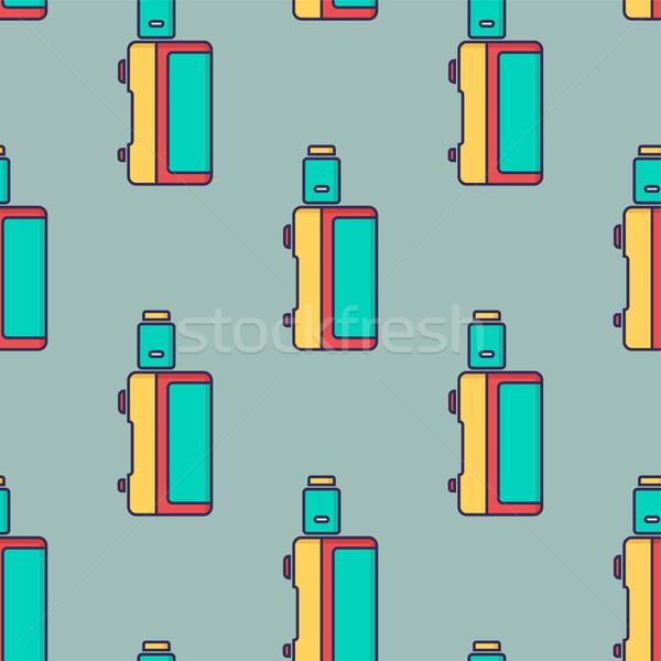 電子 たばこ ベクトル 芸術 火災 ストックフォト © vector1st