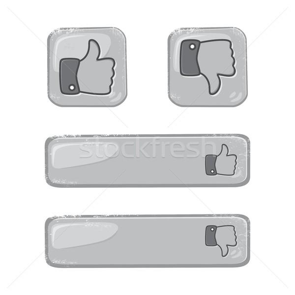 hand gesture Stock photo © vector1st