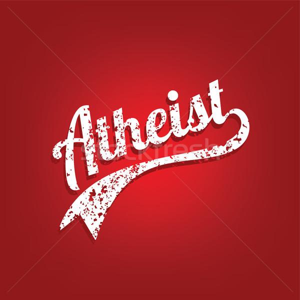 Religiosa ignoranza campagna vettore arte dio Foto d'archivio © vector1st