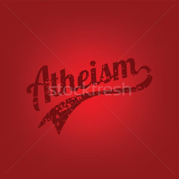 Dini cehalet kampanya vektör sanat Tanrı Stok fotoğraf © vector1st