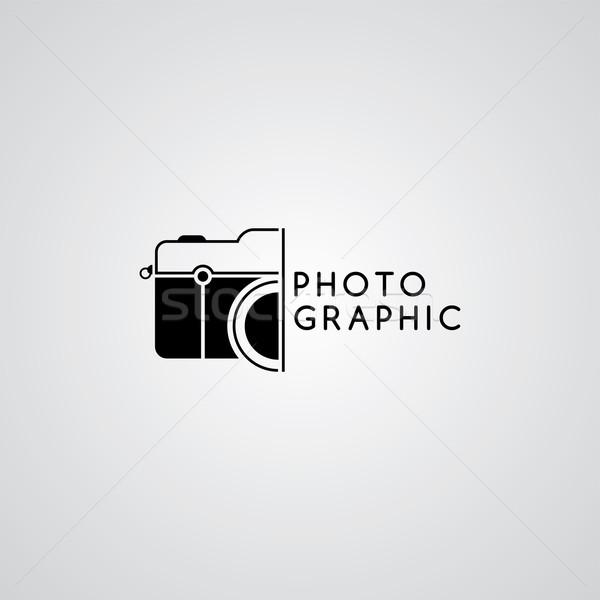 photography logo template theme Stock photo © vector1st