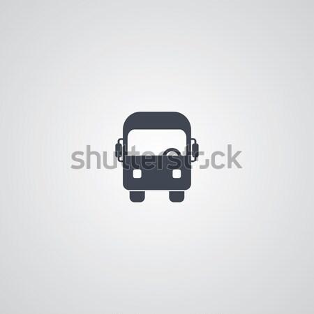 Autobús vector arte gráfico ilustración Foto stock © vector1st