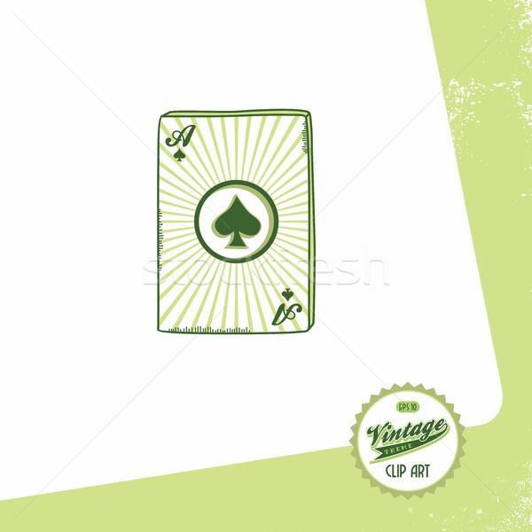poker card theme Stock photo © vector1st