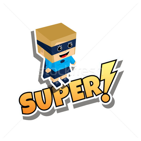 great superhero mom Stock photo © vector1st