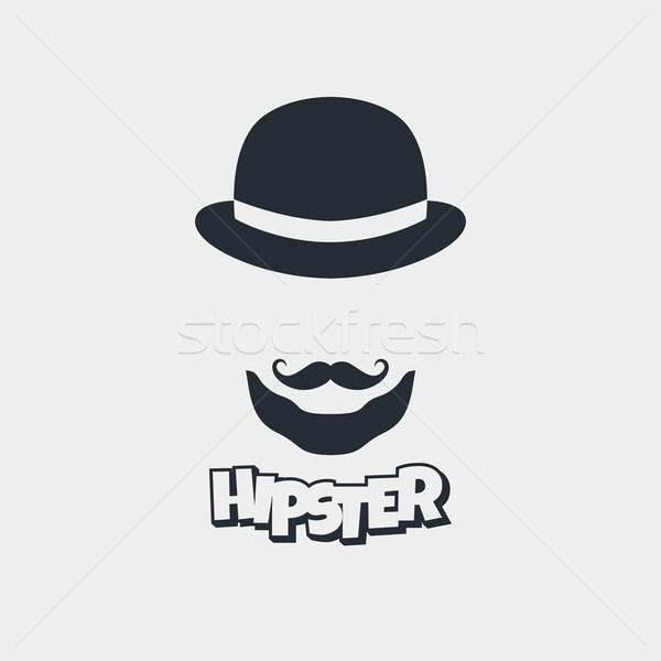 hipster retro geek Stock photo © vector1st