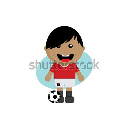 group team soccer tournament 2018 Stock photo © vector1st