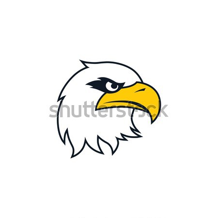 bold eagle template vector illustration vector1st 7112954