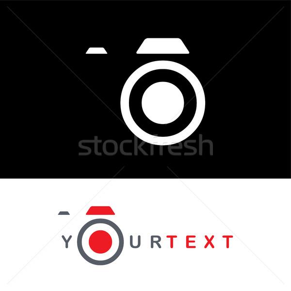 photography logo camera theme logotype Stock photo © vector1st