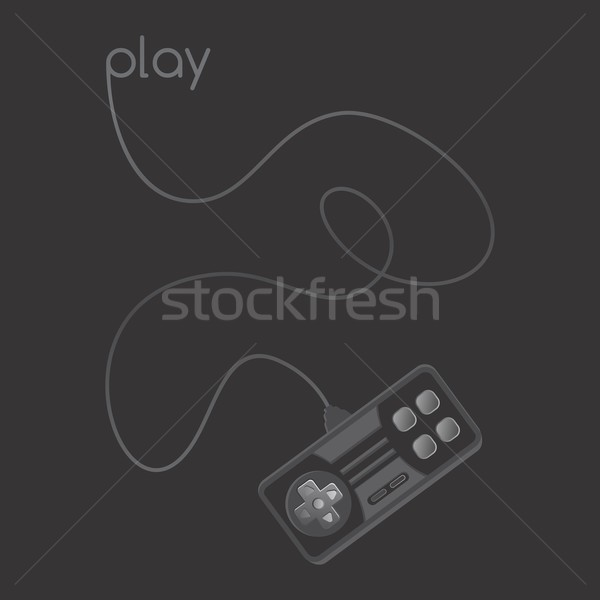 video game console theme Stock photo © vector1st