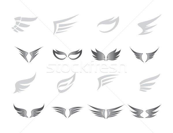wing art Stock photo © vector1st