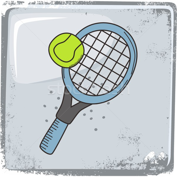 tennis sports theme Stock photo © vector1st