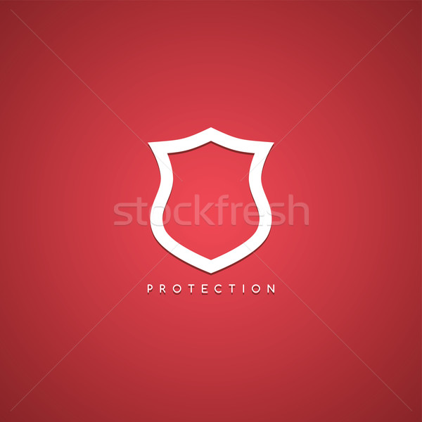 protection shield theme Stock photo © vector1st