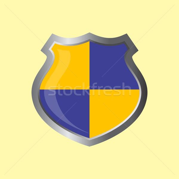 insignia theme shield Stock photo © vector1st