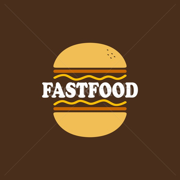 fastfood pattern Stock photo © vector1st