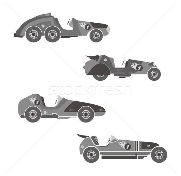 レースカー ベクトル グラフィック 芸術 デザイン ストックフォト © vector1st