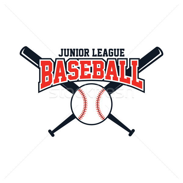 Baseball competitie sport vector kunst illustratie Stockfoto © vector1st