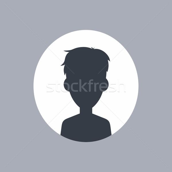 Сток-фото: неизвестный · мужчины · силуэта · вектора · искусства · иллюстрация