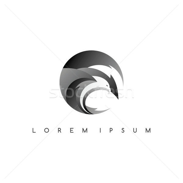 イーグル ロゴ ロゴタイプ ベクトル 芸術 実例 ストックフォト © vector1st