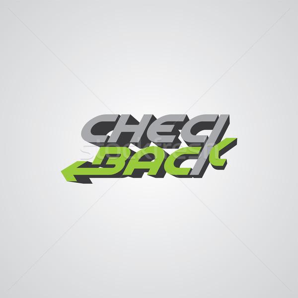 poker theme logo template Stock photo © vector1st
