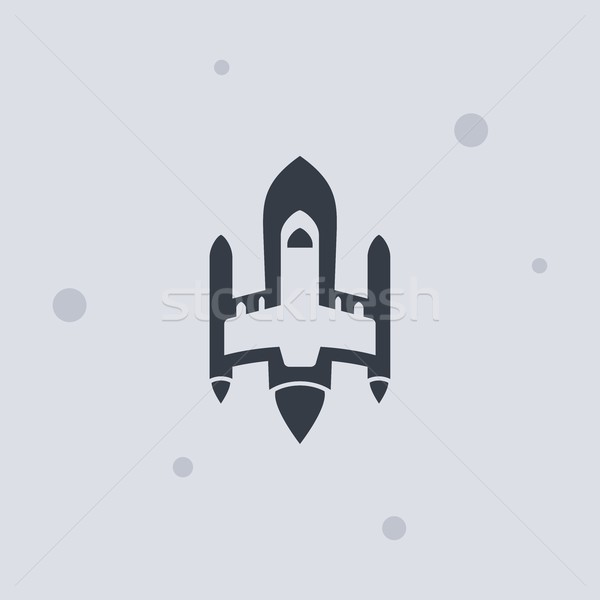 Stock photo: space shuttle