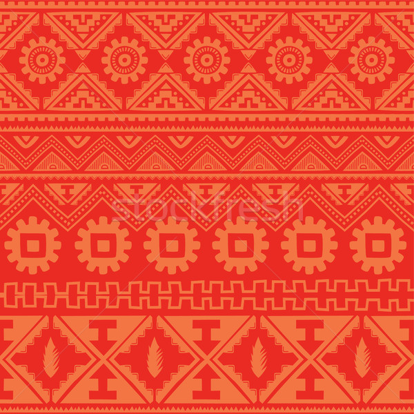 pink native american ethnic pattern Stock photo © vector1st