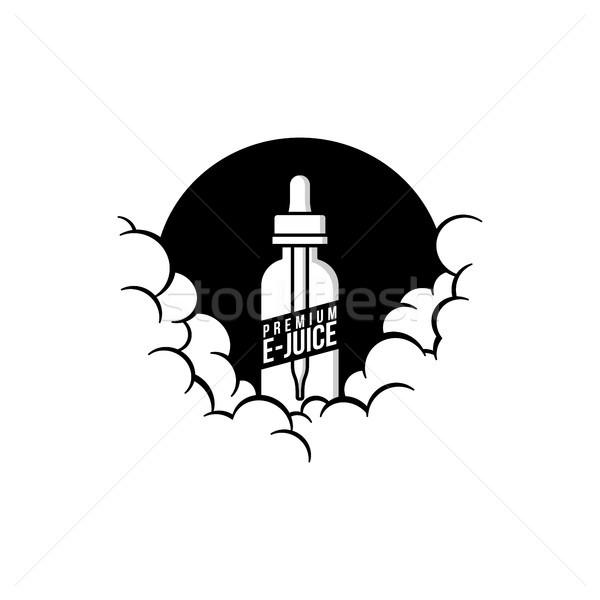 曇った 個人 ベクトル 芸術 煙 雲 ストックフォト © vector1st